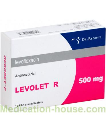 Levolet R tabs 500mg #10