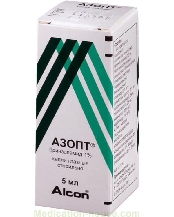 Azopt eye drops 1% 5ml