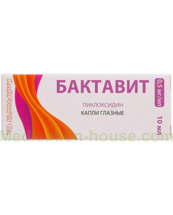 Bactavit eye drops 0.5mg/ml 10ml