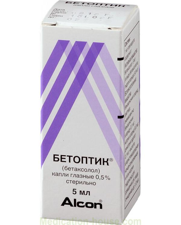 Betoptic eye drops 0.5% 5ml