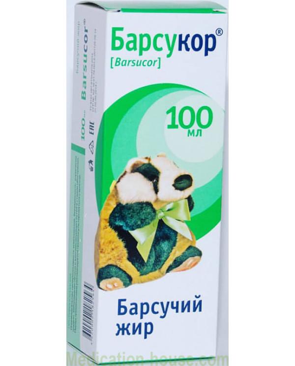 Barsucor Badger fat 100ml