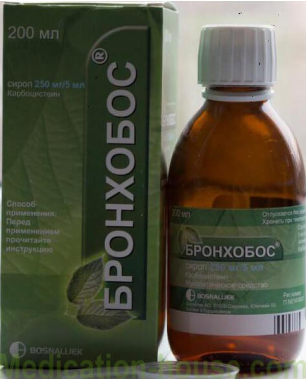 Bronchobos syrup 5% 200ml