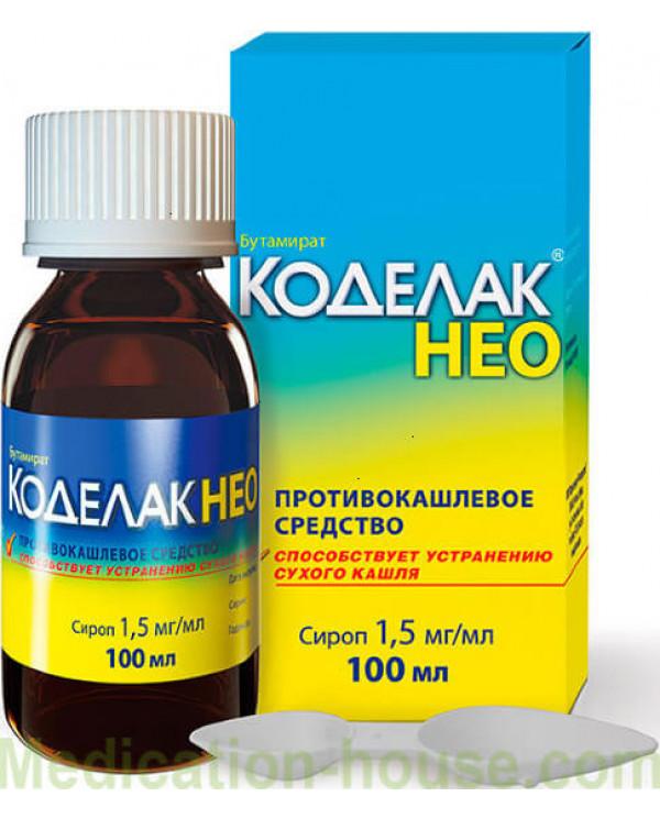 Codelac Neo syrup 1.5mg/ml 100ml
