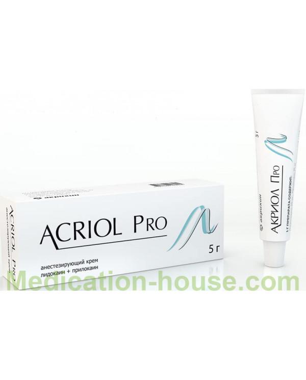Acriol Pro cream 2.5% + 2.5% 5gr