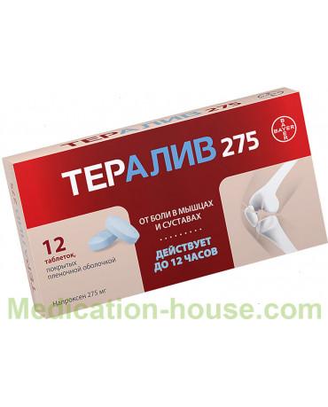 Teraliv tabs 275mg #12