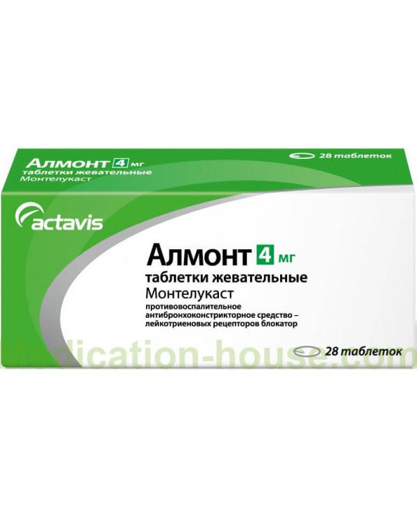 Almont tabs 4mg #28