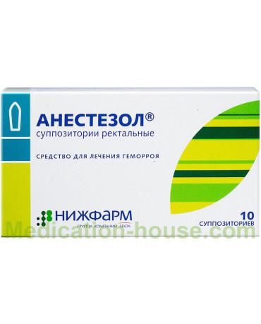 Anestezol supp #10