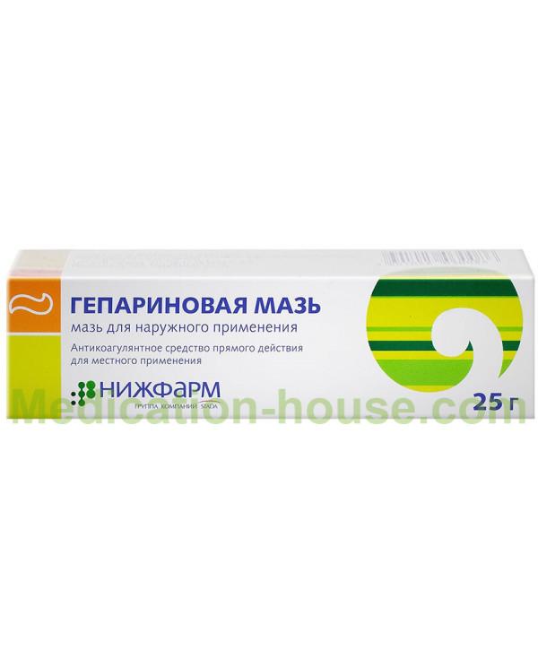 Heparin ointment 25gr