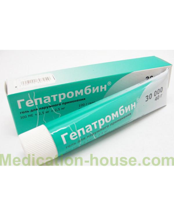 Hepatrombin gel 30 000 40gr