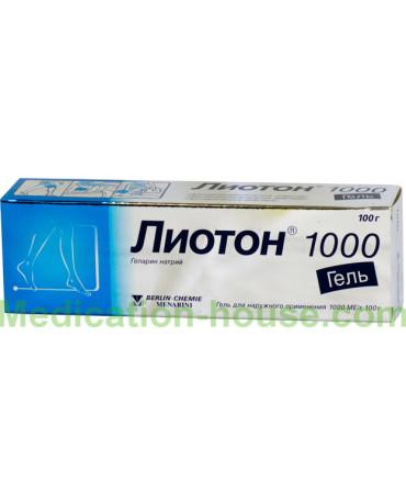 Lioton 1000 gel 100gr