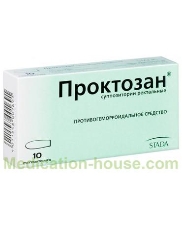 Proctosan supp #10