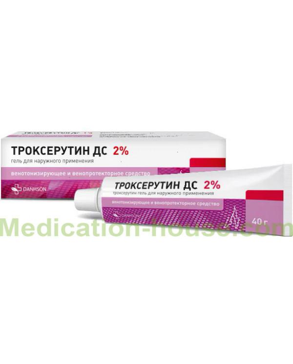 Troxerutin DS gel 2% 40gr