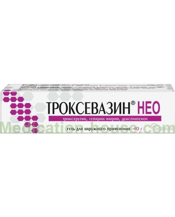 Troxevasin Neo gel 40gr