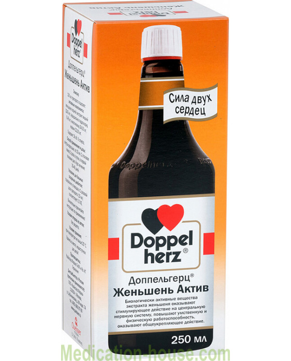Doppelherz Ginseng Active elexir 250ml