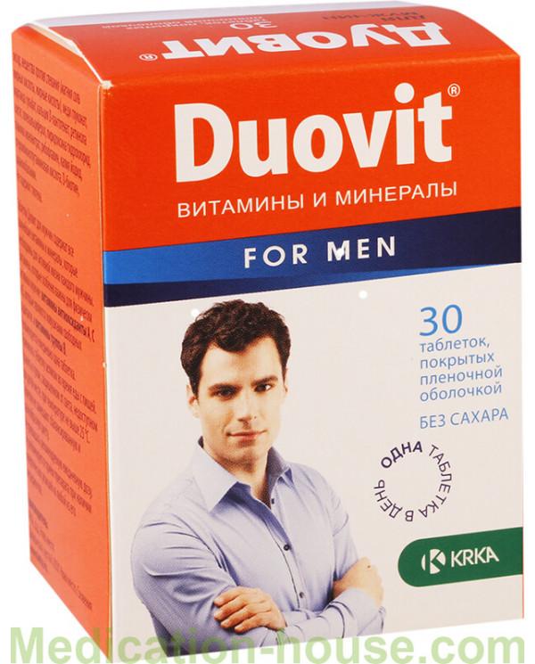 Duovit for men tabs #30