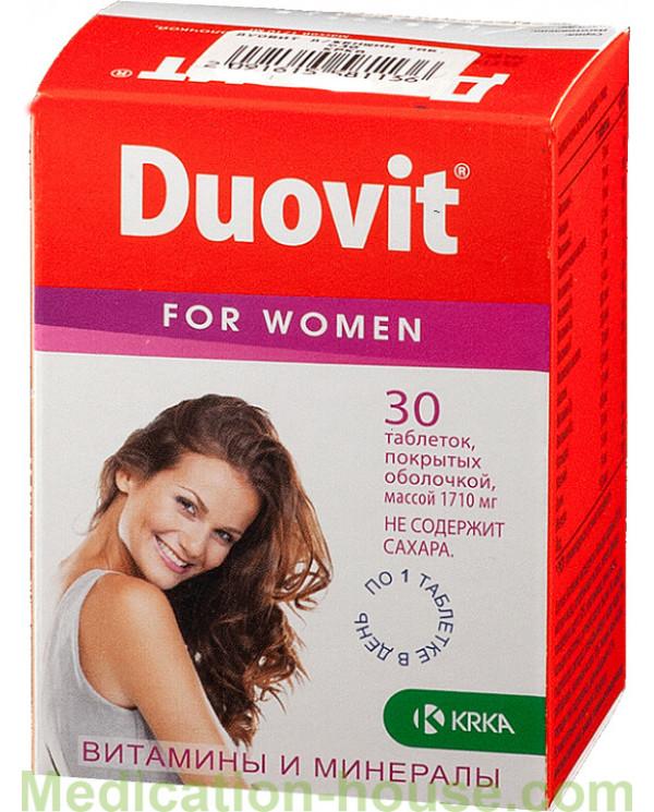 Duovit for women tabs #30