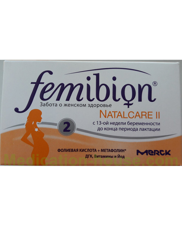 Femibion Natalcare 2 tabs #30 + caps #30