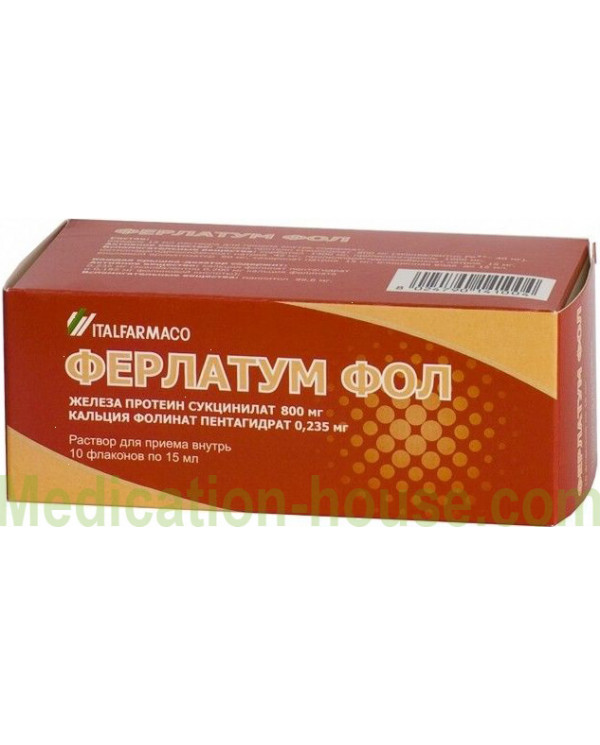 Ferlatum Fol solution 15ml #10