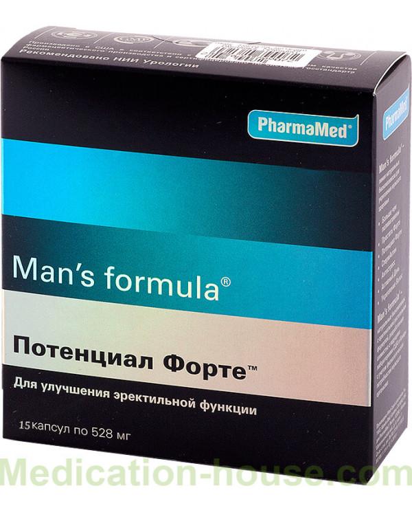 Man's Formula Potential Forte caps #15